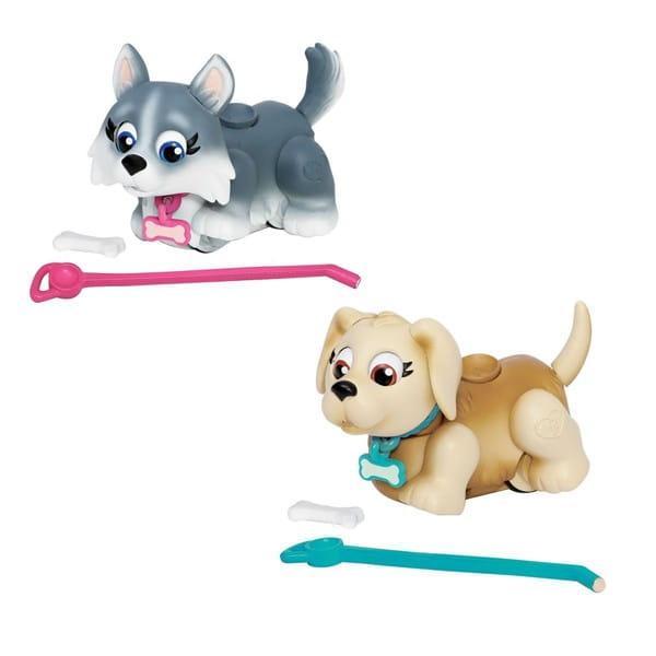 Игровой набор Pet Club Parade 2 собачки с косточкой и поводком