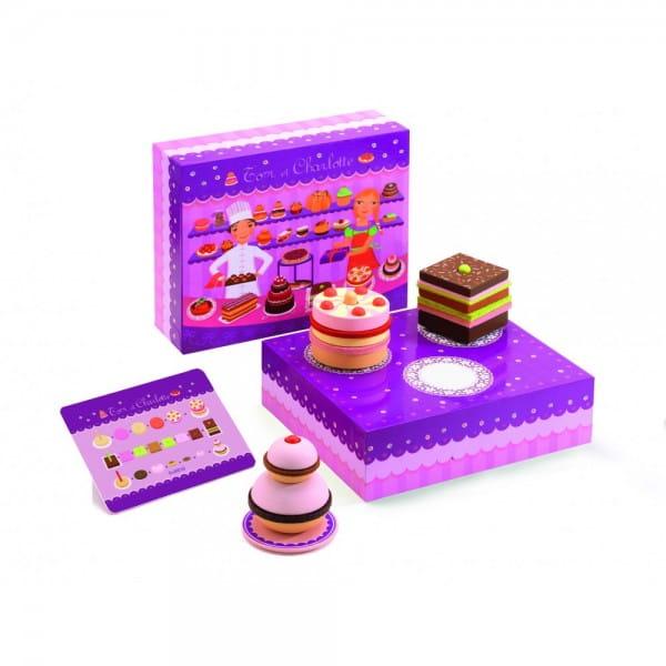 Купить Игрушечная деревянная кондитерская Djeco в интернет магазине игрушек и детских товаров