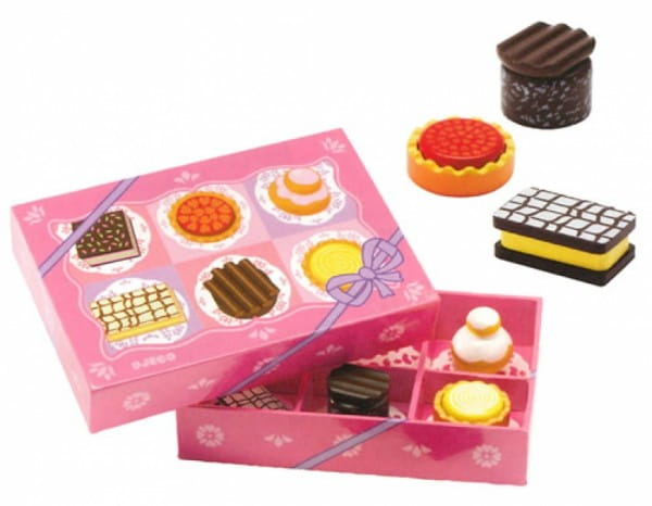 Купить Набор для сюжетно-ролевой игры Djeco Пирожные в интернет магазине игрушек и детских товаров