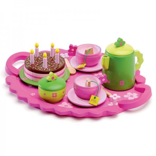 Купить Столовый набор Djeco День рождения в интернет магазине игрушек и детских товаров