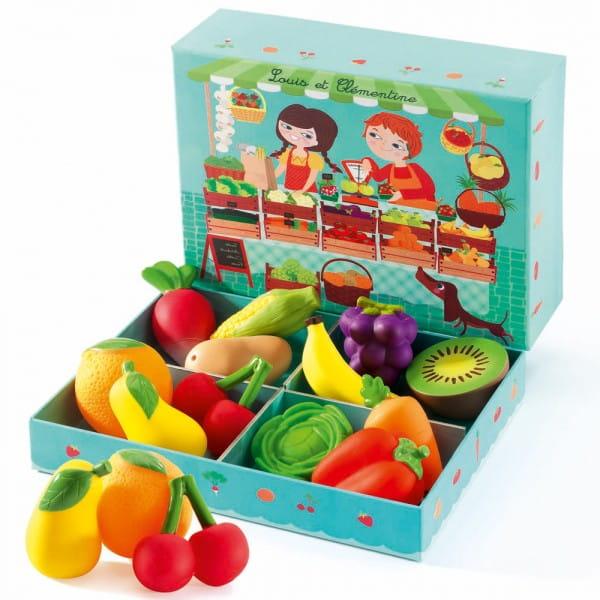 Купить Сюжетно-ролевая игра Djeco Луис и Клементина в интернет магазине игрушек и детских товаров