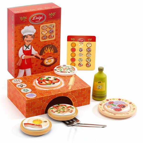 Купить Набор для сюжетно-ролевой игры Djeco Пицца в интернет магазине игрушек и детских товаров