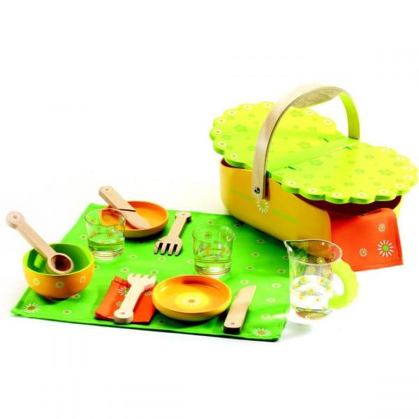 Купить Набор для сюжетно-ролевой игры Djeco Мой пикник в интернет магазине игрушек и детских товаров