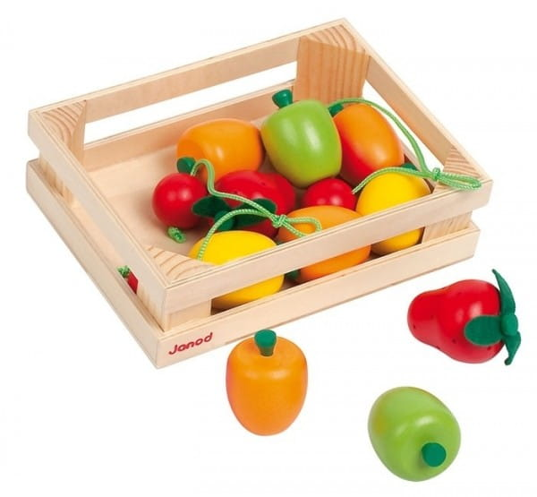 Набор фруктов Janod bj05610 в ящике - 12 элементов
