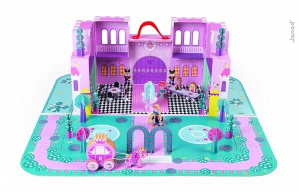 Игровой набор Janod Замок принцессы (с 28 аксессуарами)