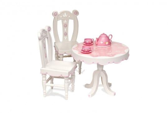 Купить Стол и два стула для куклы Our Generation Dolls - 46 см в интернет магазине игрушек и детских товаров