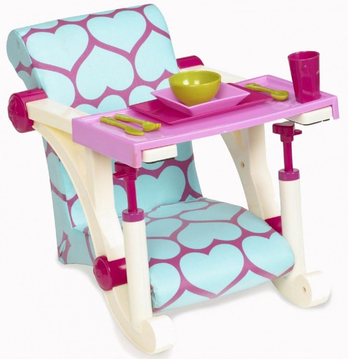 Стульчик для кормления куклы Our Generation Dolls b11525 - 46 см (крепление к столу)