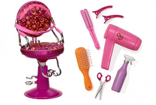 Купить Парикмахерское кресло для куклы Our Generation Dolls - 46 см в интернет магазине игрушек и детских товаров
