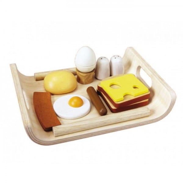 Деревянный игрушечный набор Plan Toys Завтрак