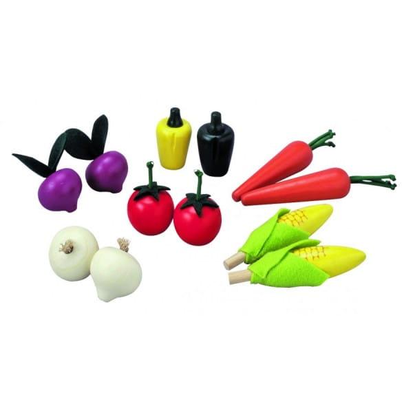Деревянный игрушечный набор Plan Toys Овощи