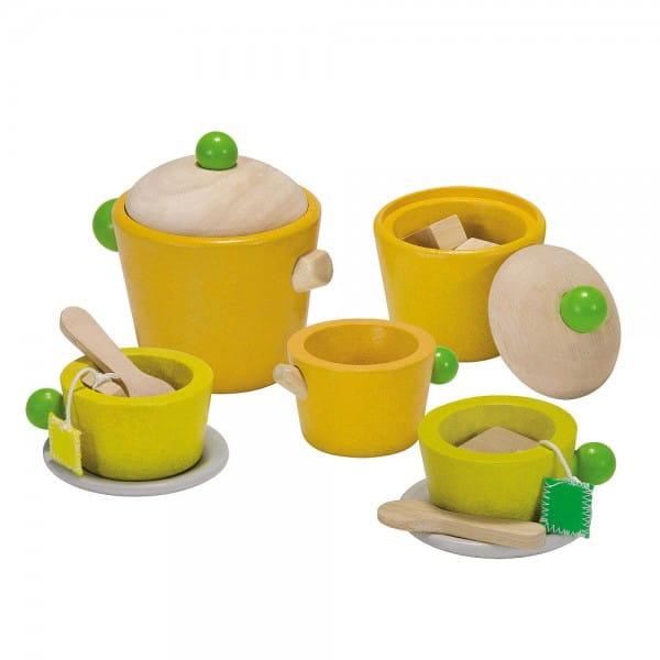 Купить Набор для чаепития Plan Toys в интернет магазине игрушек и детских товаров