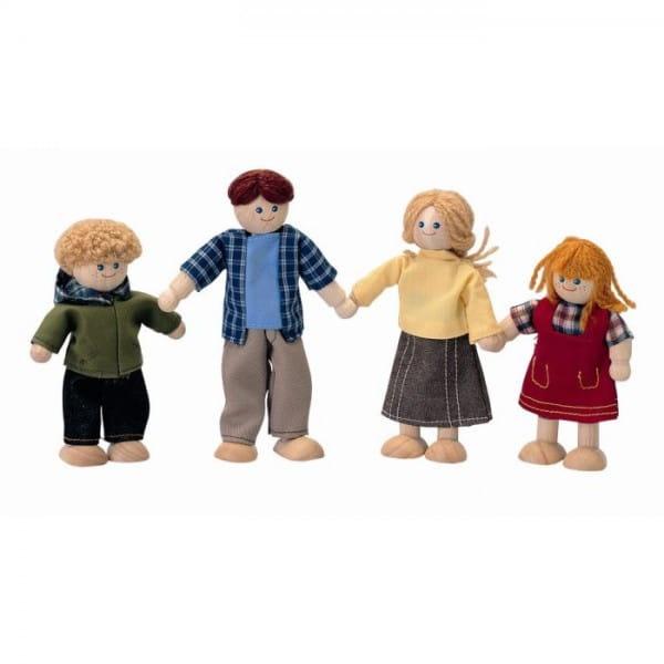 Купить Кукольная семья Plan Toys в интернет магазине игрушек и детских товаров