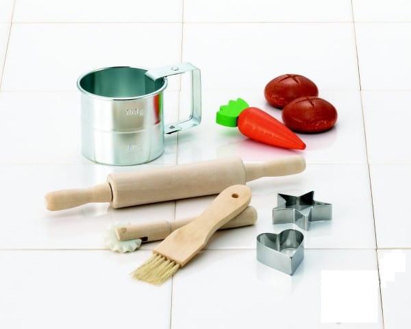 Купить Набор посуды Spielstabil Кухонная утварь (металл) в интернет магазине игрушек и детских товаров