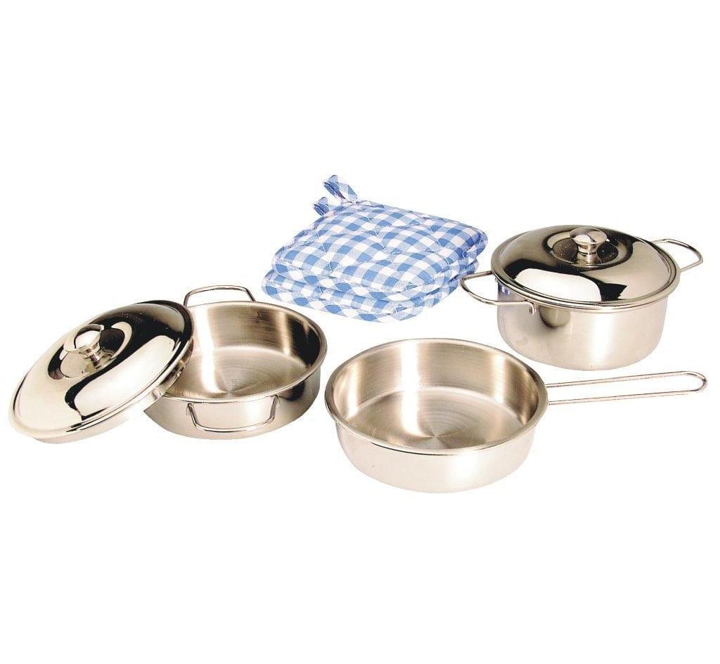 Набор посуды Spielstabil k4910 2 (нержавеющая сталь)