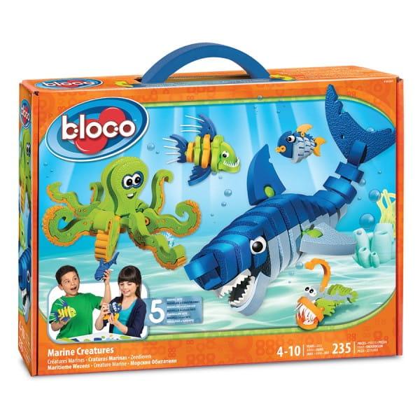 Конструктор BLOCO Морские животные - 235 деталей