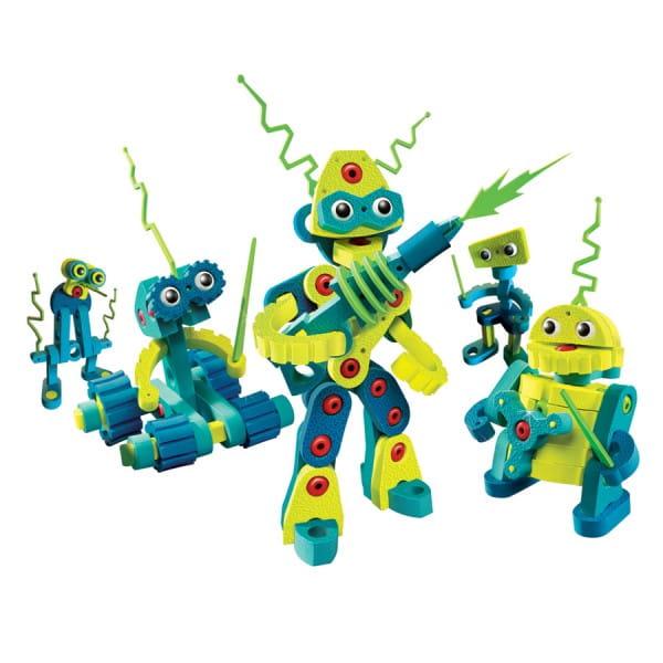 Конструктор BLOCO Вторжение роботов - 225 деталей