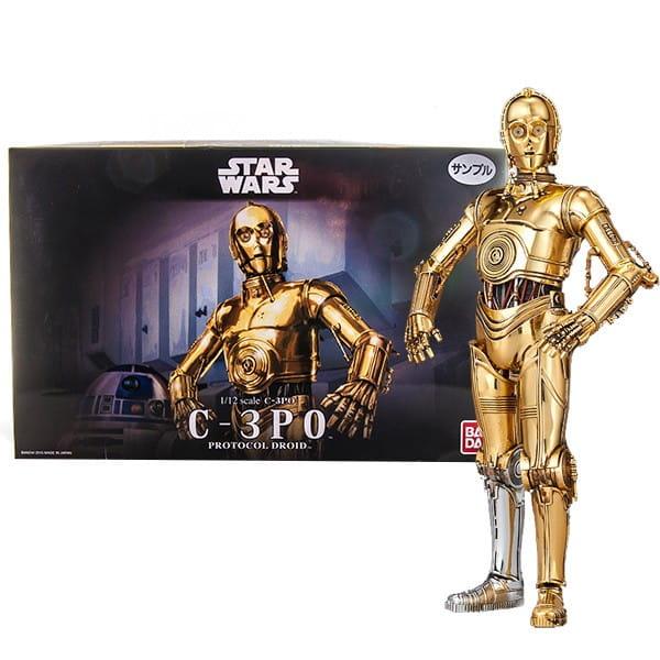 Сборная модель Bandai Star Wars Звездные войны C-3PO 1:12