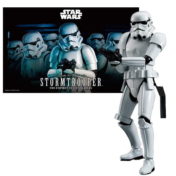 Сборная модель Bandai Star Wars Звездные войны Штурмовик 1:12