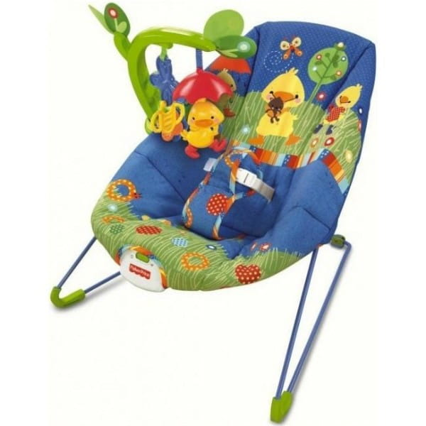 Купить Кресло-кокон Fisher Price (Mattel) в интернет магазине игрушек и детских товаров
