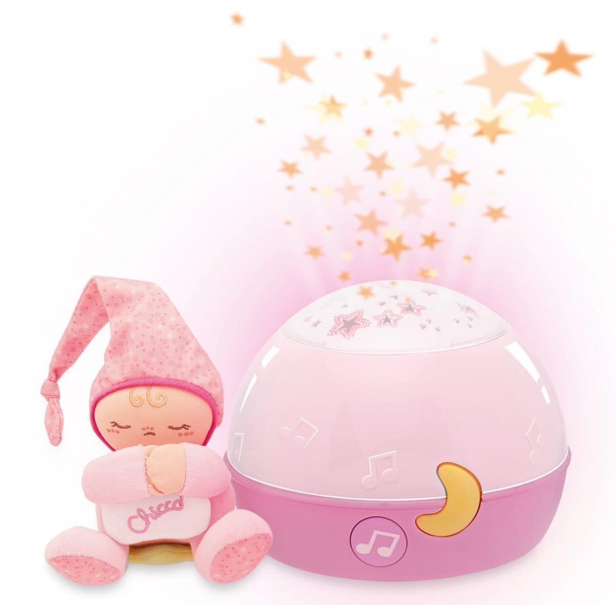 Проектор-ночник Chicco 24271 Первые грезы - розовый