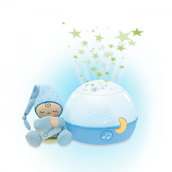 Проектор-ночник Chicco 24272 Первые грезы - голубой