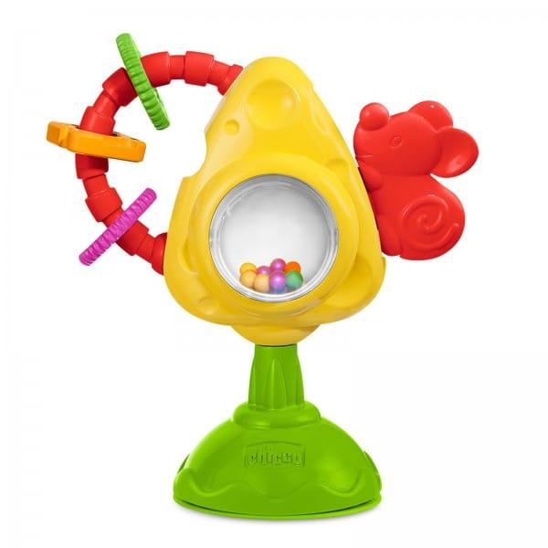Игрушка для стульчика Chicco Мышка с сыром и крекерами