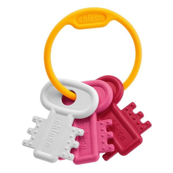 Погремушка Chicco 632161 Ключи на кольце - розовая