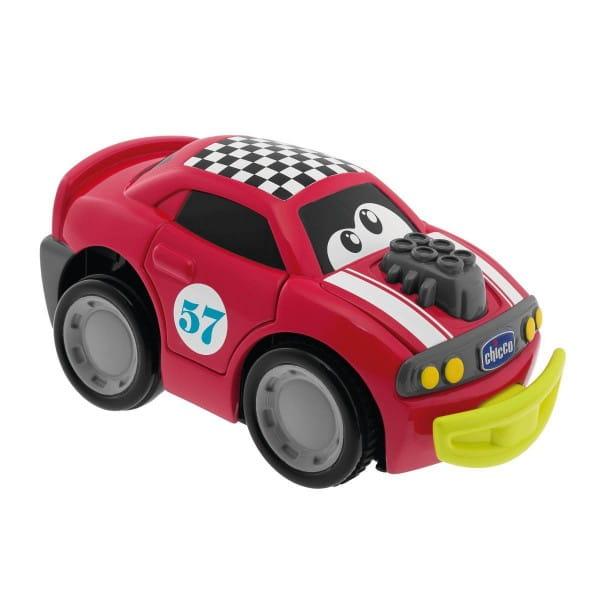 Развивающая игрушка Chicco Машинка Turbo Touch Crash - красная