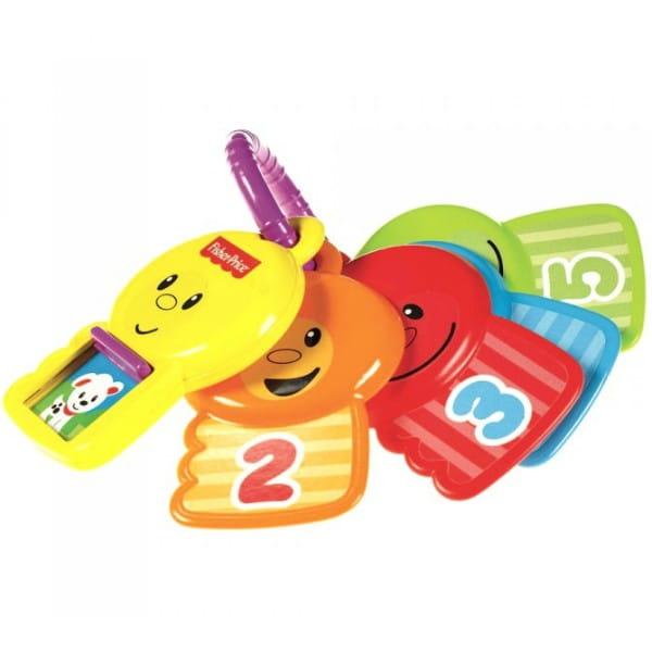 Развивающая игрушка Fisher Price Ключики Считай и познавай (Mattel)