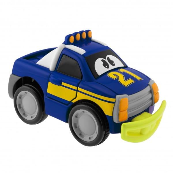 Развивающая игрушка Chicco Машинка Turbo Touch Crash - голубая