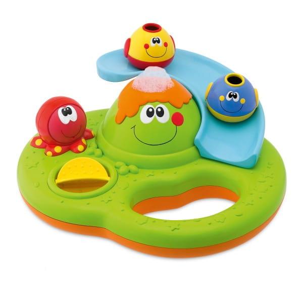 Игрушка для ванны Chicco Остров с пузырьками