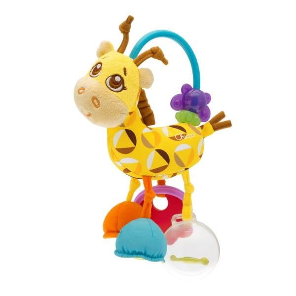 Погремушка мягкая Chicco Жираф