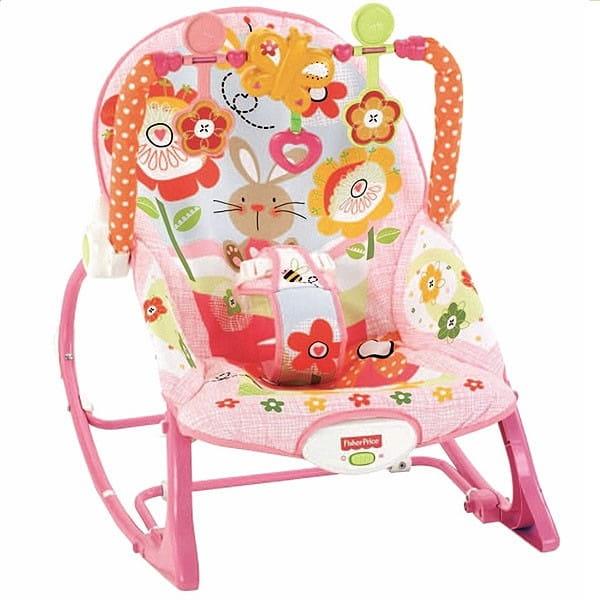 Купить Кресло-качалка Fisher Price Растем вместе (Mattel) в интернет магазине игрушек и детских товаров