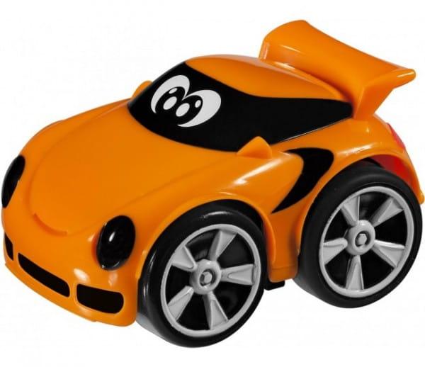 Развивающая игрушка Chicco Турбо-машина - оранжевая