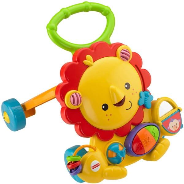 Купить Ходунки Fisher Price Львенок (Mattel) в интернет магазине игрушек и детских товаров