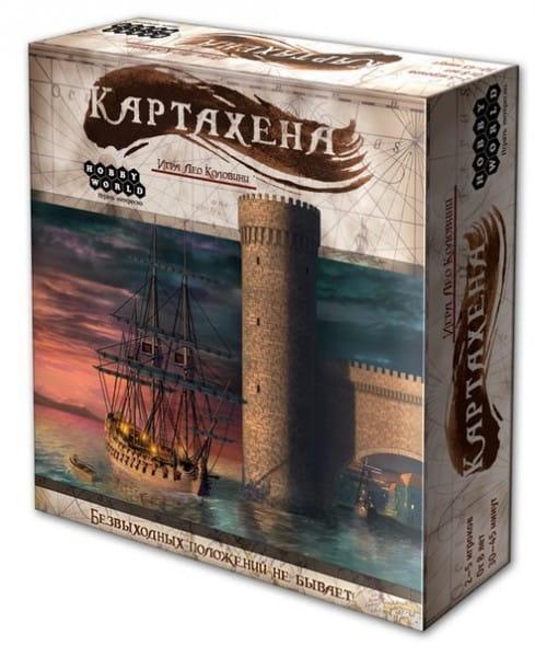 Купить Настольная игра Hobby World Картахена в интернет магазине игрушек и детских товаров