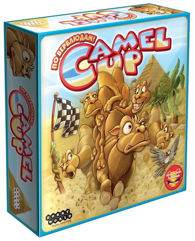 Купить Настольная игра Hobby World Camel Up в интернет магазине игрушек и детских товаров
