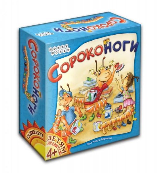 Купить Настольная игра Hobby World Сороконоги в интернет магазине игрушек и детских товаров