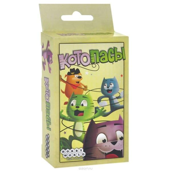 Купить Настольная игра Hobby World Котопасы в интернет магазине игрушек и детских товаров