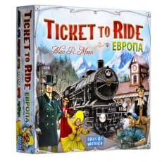 Фото Настольная игра Hobby World Ticket to Ride - Европа