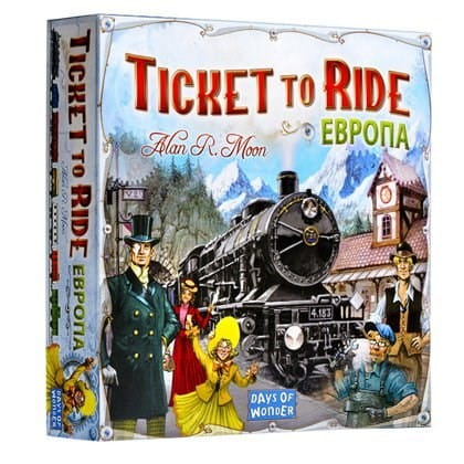 Настольная игра Hobby World Ticket to Ride - Европа