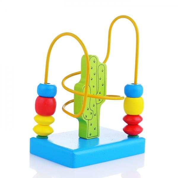 Развивающая игрушка Alatoys ЛБ1016 Лабиринт Кактус