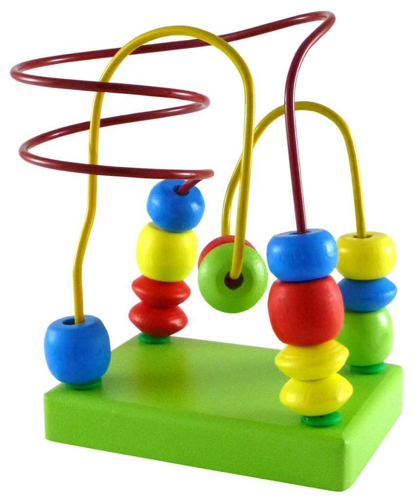 Развивающая игрушка Alatoys ЛБ1023 Лабиринт салатовый