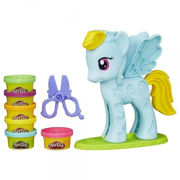Набор для творчества Play-Doh Стильный салон Рэйнбоу Дэш (Hasbro)