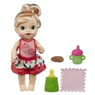 Купить Кукла Baby Alive Удивительная малышка (Hasbro) в интернет магазине игрушек и детских товаров