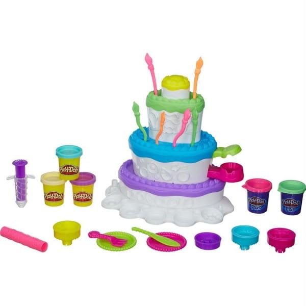 Набор для творчества Play-Doh Праздничный торт (Hasbro)