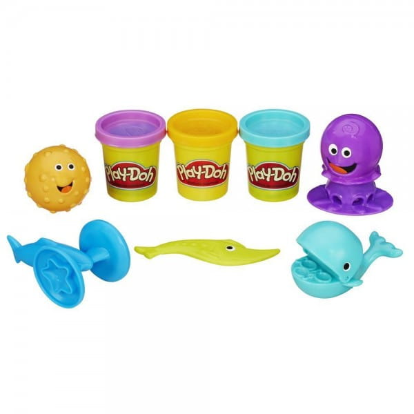Набор для творчества Play-Doh Подводный мир (Hasbro)