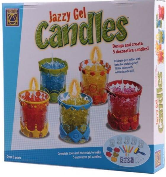 Набор для творчества CREATIVE Гелевые свечи