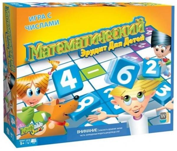 Настольная игра Mathable 5006 Математический эрудит для детей