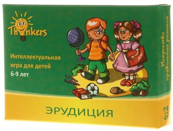 Логическая игра Thinkers 0604 Выпуск 4 - Эрудиция (6-9 лет)